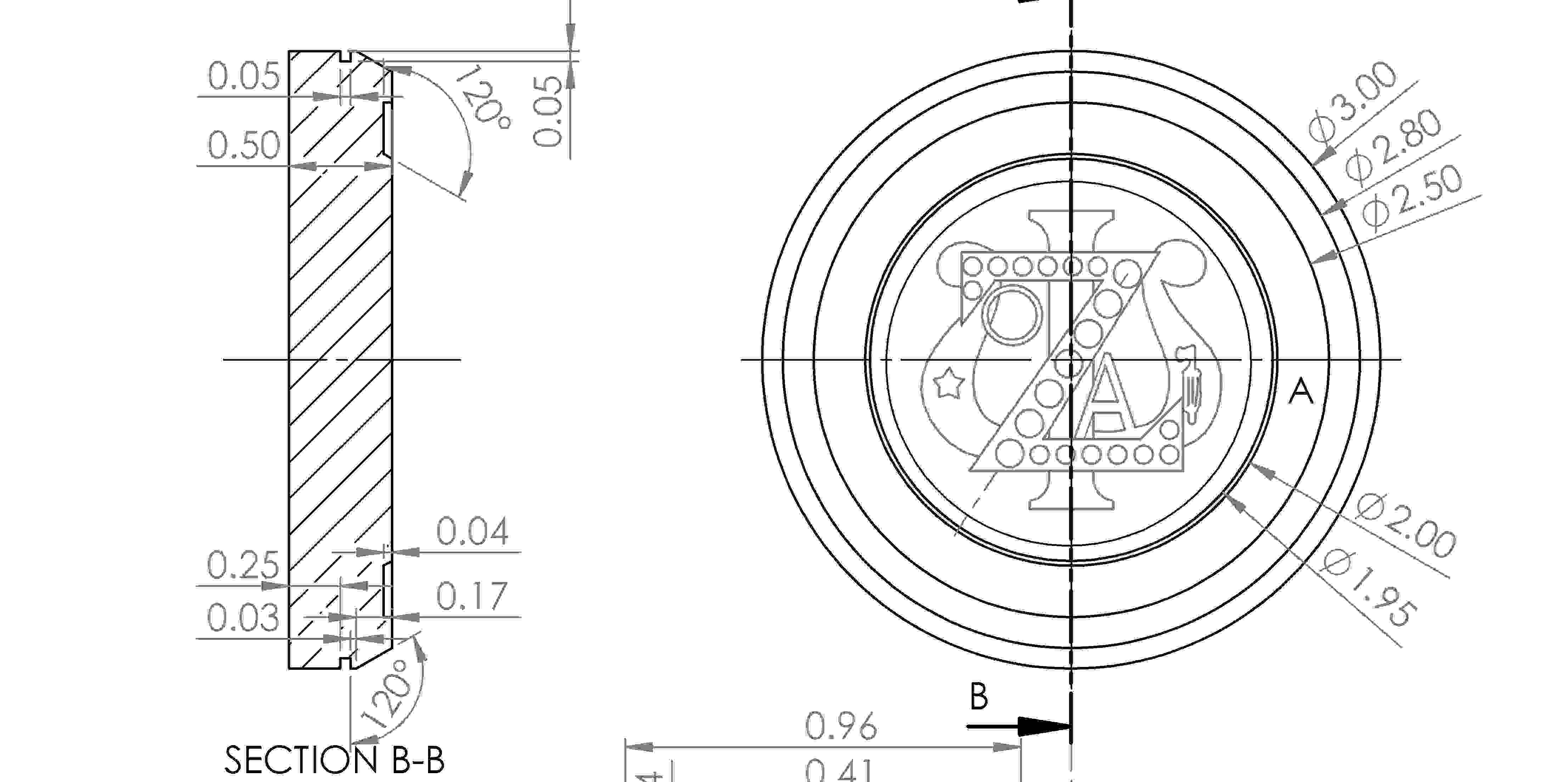 Portfolio >> CNC Paperweight